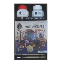 Coffret Art Métal - Set Aluminium (imitation argent)