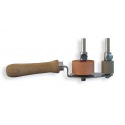 Dérouleur pour métal en rouleau de 1 à 50 mm