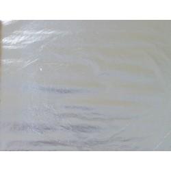 Aluminium NS Imitation Argent 140 x 140 mm - Le Carnet de 25 feuilles